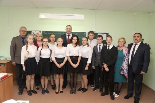 Рабочая встреча губернатора Вологодской области и генерального директора «Череповецлес» в Белозерском районе