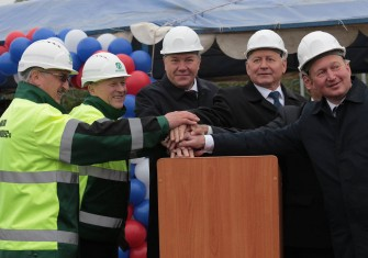 Запущен новый лесопильный завод по производству сухих хвойных пиломатериалов экспортного качества