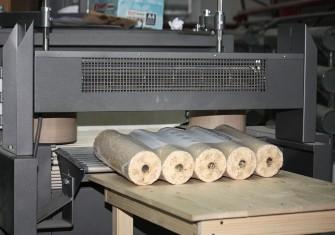 На предприятии холдинга «Череповецлес» запущено крупнейшее на Северо-Западе производство древесных топливных брикетов